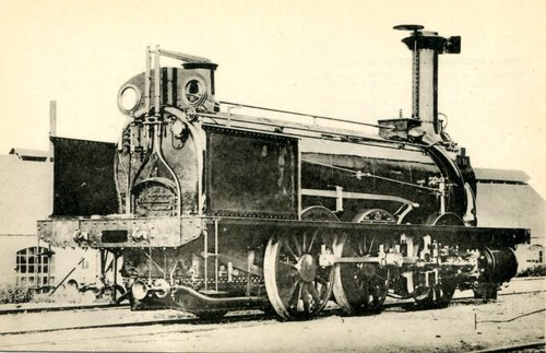"Locomotive, ""La Vaux"""