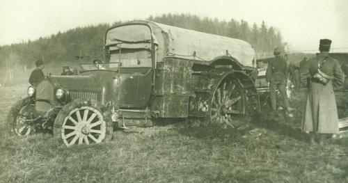 Camion Saurer enlisé à Thoune