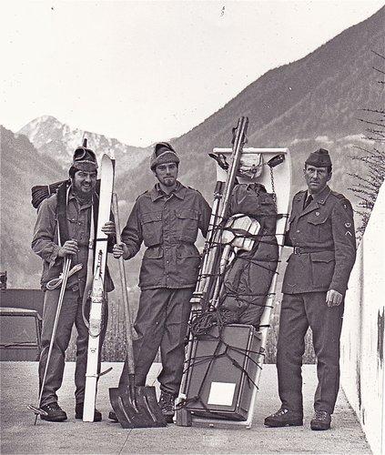 Les guides de montagne et l'armée