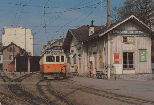 Lausanne gare du LEB