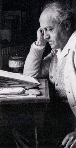 Ernest Bloch dans les années 1950