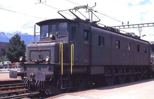 Lausanne Gare locomotive Ae 4/7