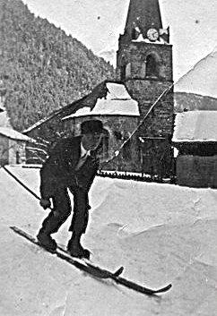 Skieur de compétition