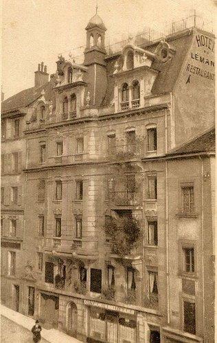 Lausanne restaurant du Léman