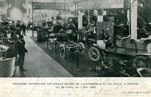 Genève, le 1er salon de l'auto