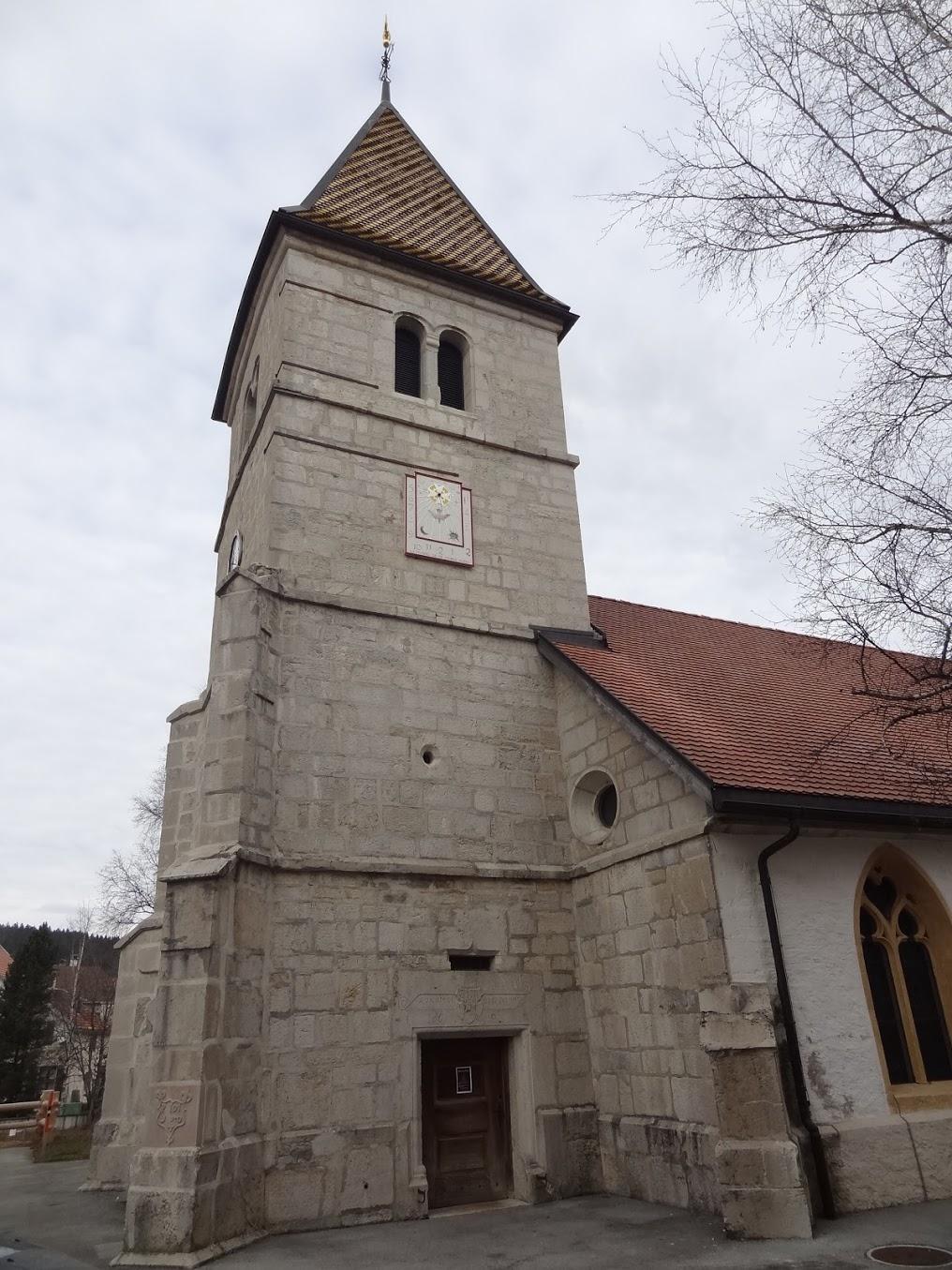 Temple de la Brévine