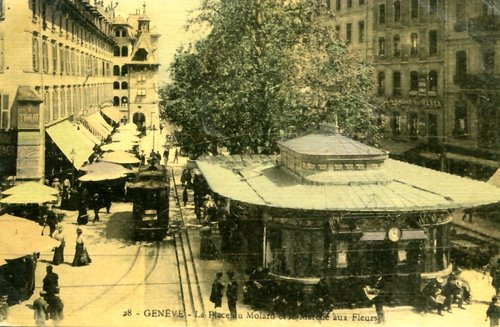 Genève, la place du Molard