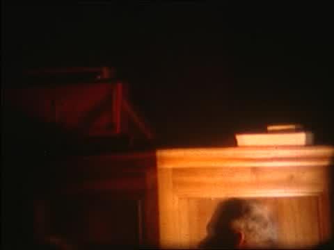 Bettens - Restauration église 1968 sortie culte inauguration