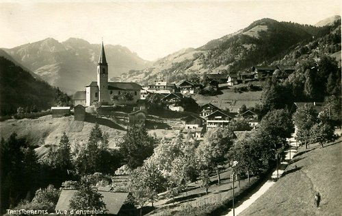 Le village de Troistorrents