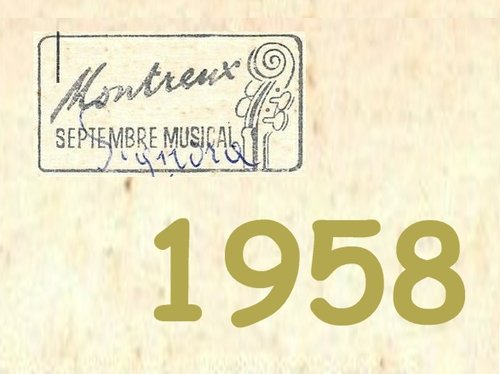 Album 1958 Dossier Septembre Musical