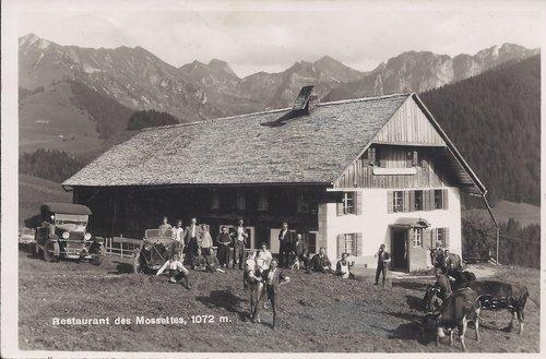 Restaurant des Mossettes