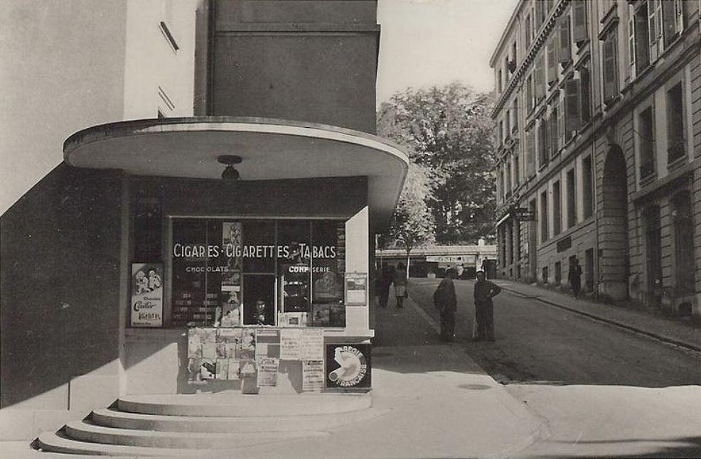 Lausanne kiosque tabacs