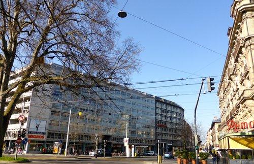 Genève, place du cirque