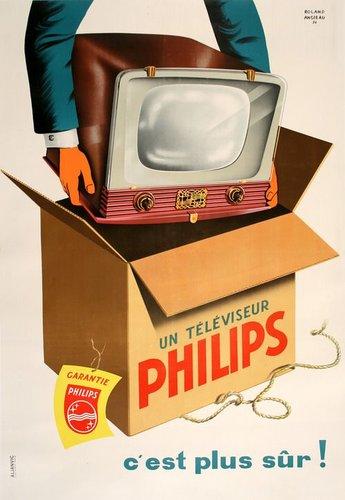 Un téléviseur
