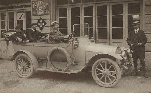 Lausanne auto école Louis Lavanchy