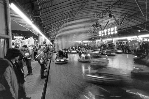 Genève, les Autos Tamponneuses