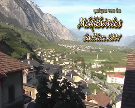 Saillon Valais, les fêtes médiévales