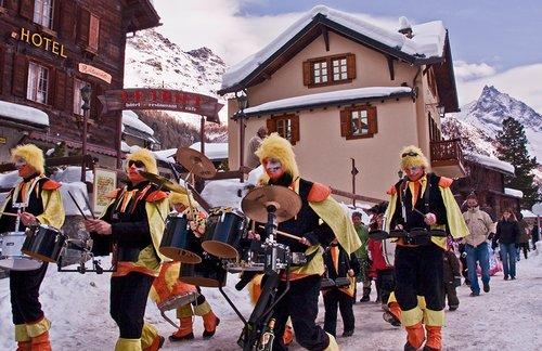 Carnaval 2010 en Anniviers