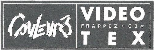 Videotex Couleur 3