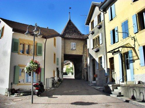 Boudry, la porte des Vermondins