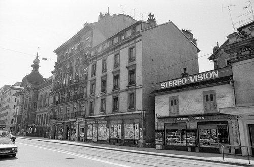 Genève, la Rue de Carouge en 1983