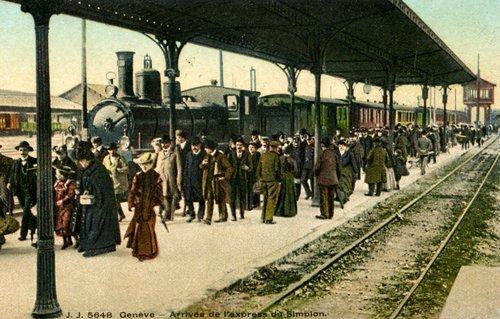 Genève, train à vapeur
