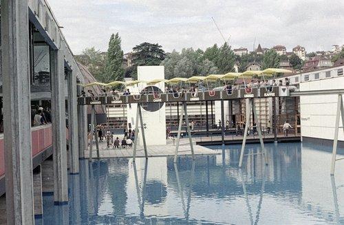 Lausanne, Expo1964. Le Monorail