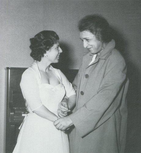 Deux grandes amies, Maria STADER et Clara HASKIL