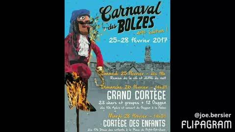 49ème Carnaval des Bolzes 2017 en image