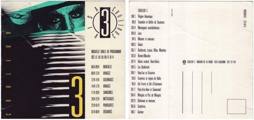 Nouvelle grille de programmes 1988