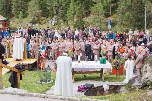Messe pour les guides