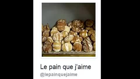 Le pain que j'aime (à l'ancienne)