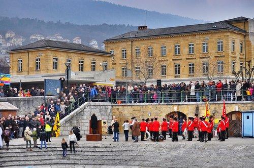 Neuchâtel - le 1er mars