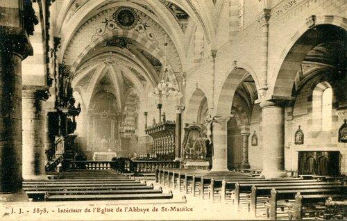 St-Maurice, l'Abbatiale
