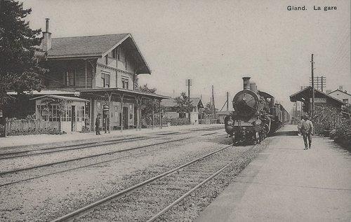 Gland la gare
