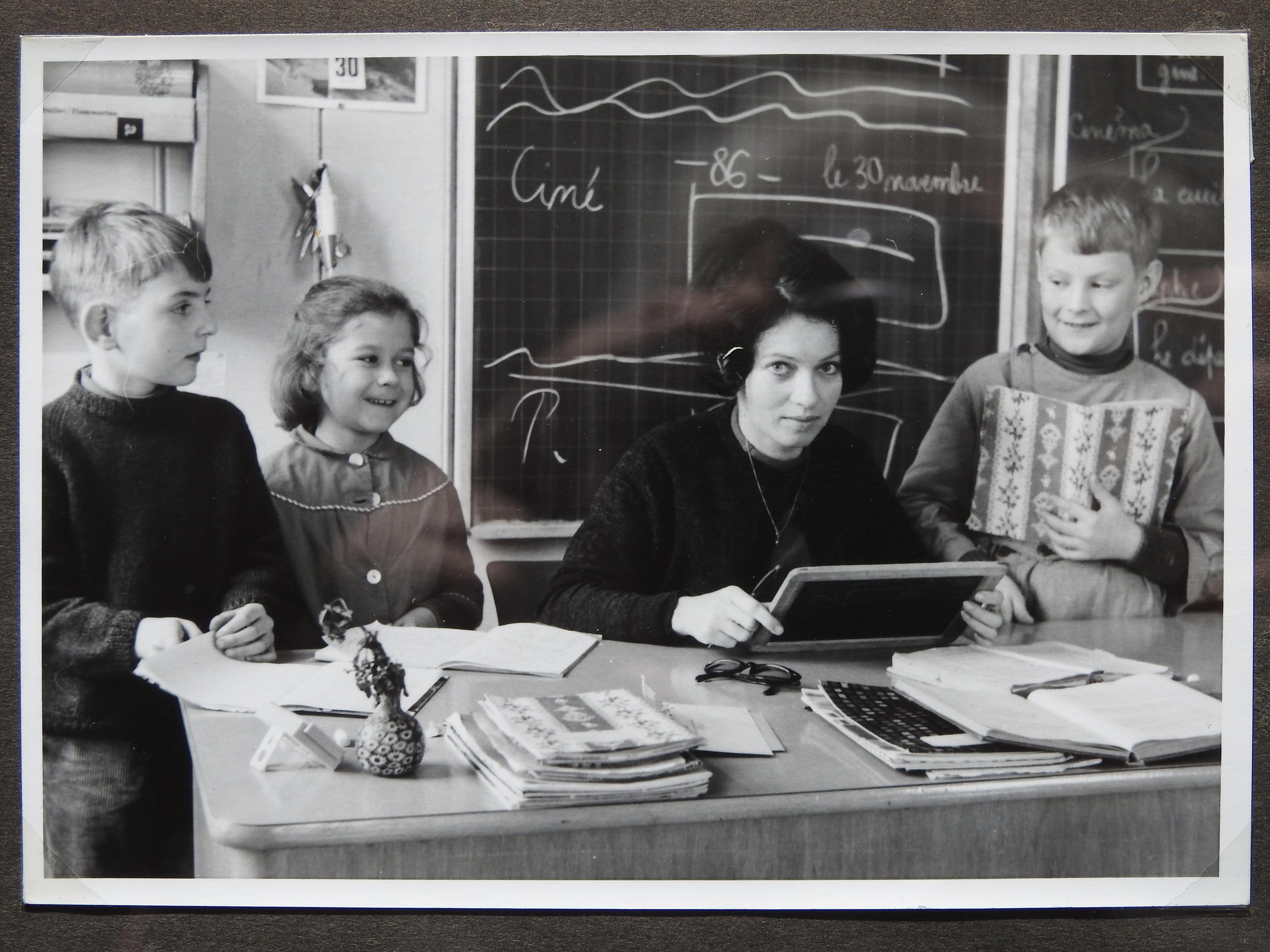 Bettens classe école ~1966