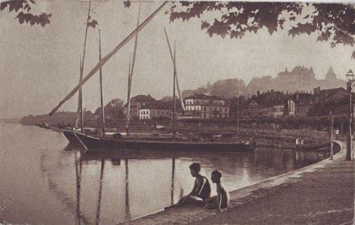 Nyon au bord du lac