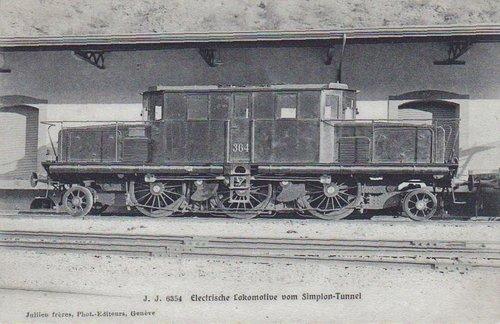 Locomotive électrique du Simplon  Ce 4/6