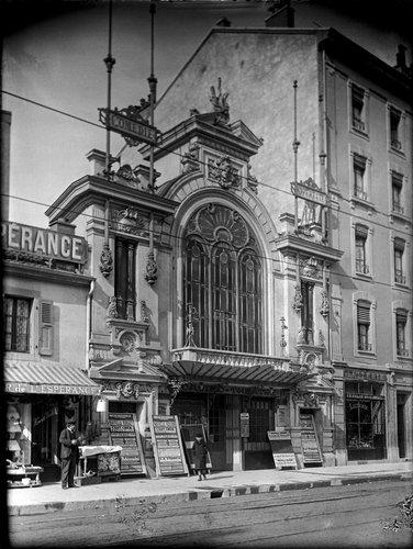 Genève, le Casino-Théâtre en 1907