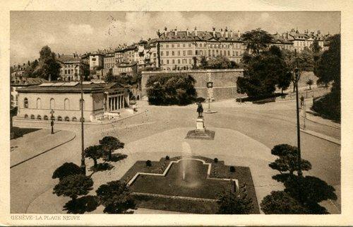 Genève, place de Neuve
