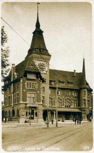 La mairie des Eaux-Vives