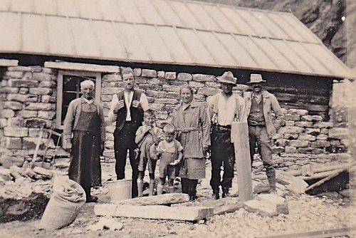 A Panossière en 1933