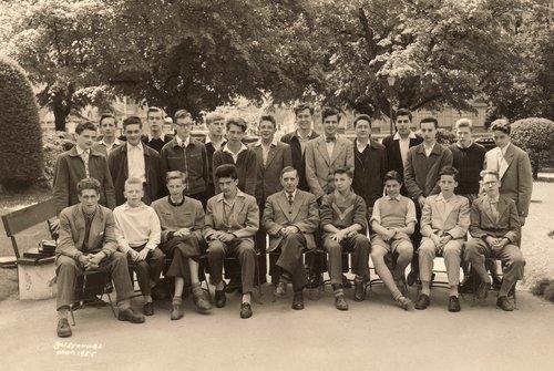 Collège Calvin, Genève, 1952