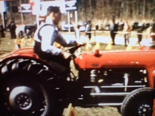 Concours de tracteurs en 1956