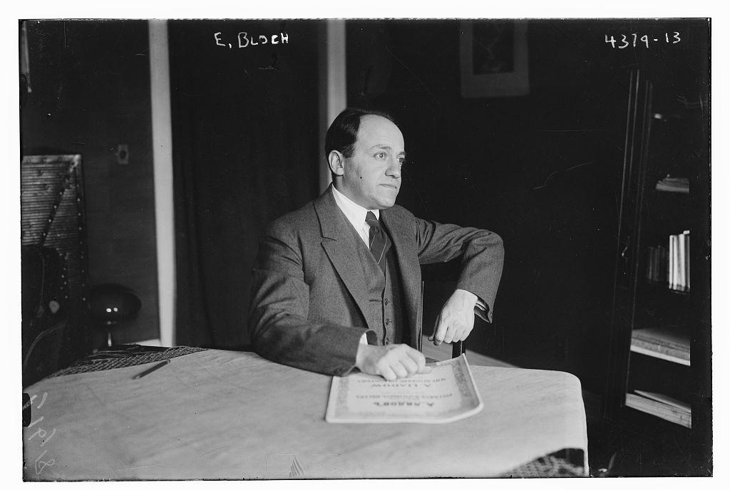 Ernest BLOCH, sa vie, ses oeuvres et leurs enregistrements