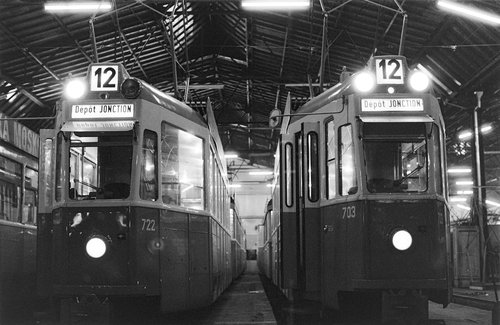 Les Trams 12 se reposent