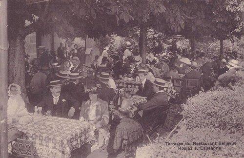 La Rosiaz terrasse du restaurant Bellevue