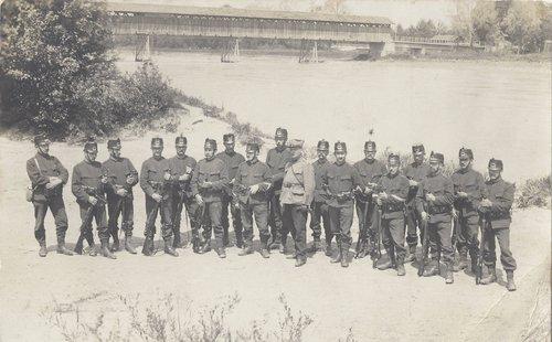 Sous les drapeaux en 1915