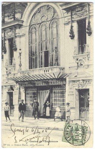 Genève, le Casino de l'Espérance avant 1904