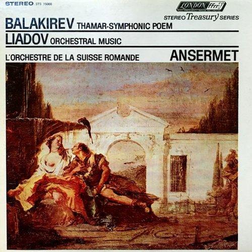 Mili BALAKIREW, Thamar, poème symphonique, OSR, Ernest ANSERMET, mai 1954, London STS 15066